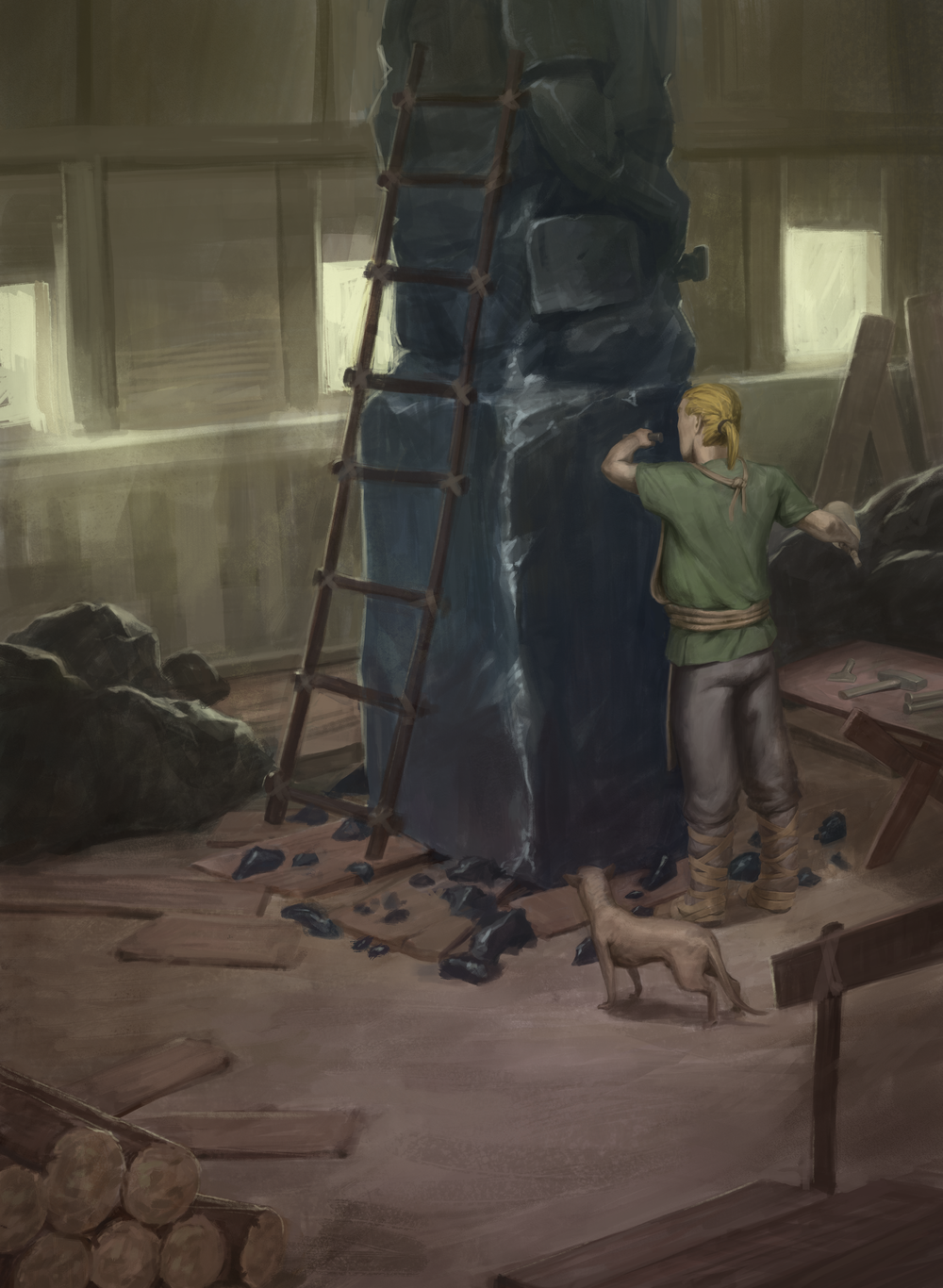 Sculptor's Hut