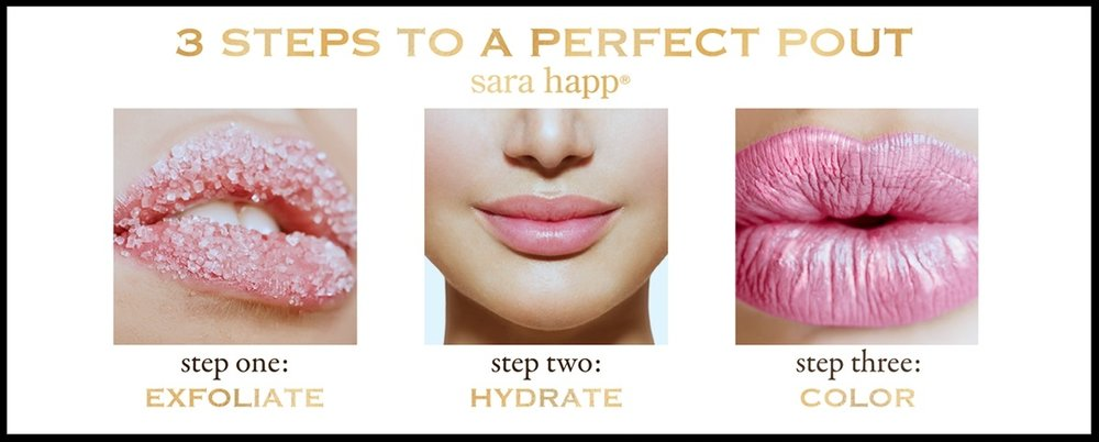 Von Maur ~ sara happ® ~  2 Lip Scrubs  ~ was: $24 now: $16 each (In Peach and Pink Grapefruit) + Free shipping, free returns, and free gift wrapping