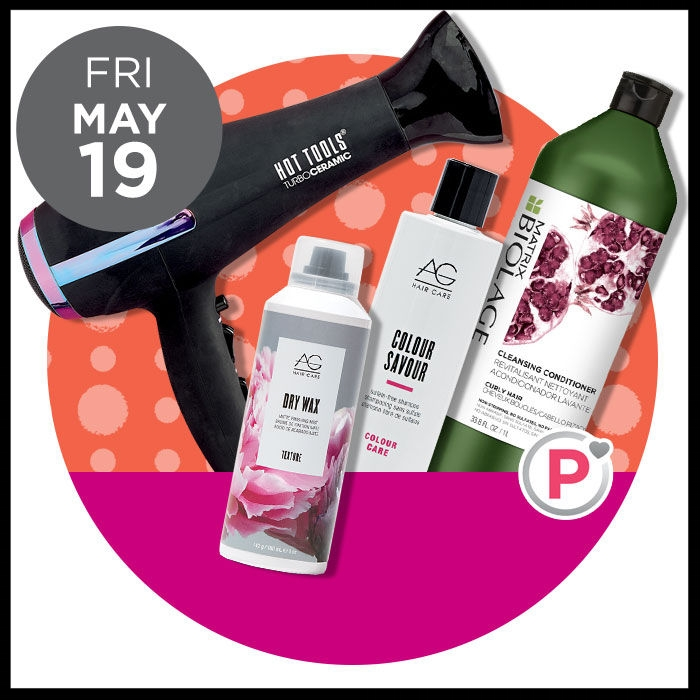 Ulta ~ Gorgeous Hair Event ~ AG Entire Brand (40% OFF)  AND HOT TOOLS Rainbow Gold Dryer (50% OFF) was: $59.99 AND MATRIX Liters (Platinum Perk~ONLINE ONLY) 50% OFF