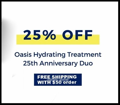 H2O+ ~ 25% Off Oasis Hydrating Treatment 25th Anniversary Duo with  FREE MILI MOISTURE METER ~ $79 ($155 value) + FREE SHIPPING WITH $50 order