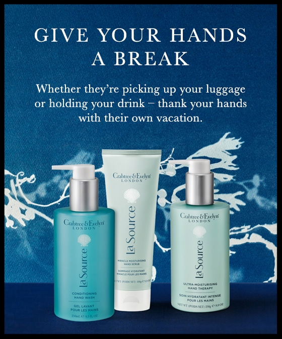 Crabtree & Evelyn  ~ 25% Off + Free shipping with $25 order (Ends 5/29) + FREE OLD WORLD JASMINE HAND THERAPY WITH A $60 PURCHASE