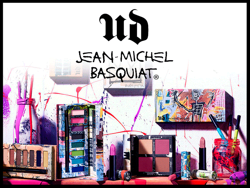 Macy's ~   Urban Decay  ~ Jean-Michel Basquiat Collection ~ 30% Off ~ was: $17 - $39 now: $11.90 - $29.30 + Free shipping and returns on any beauty order