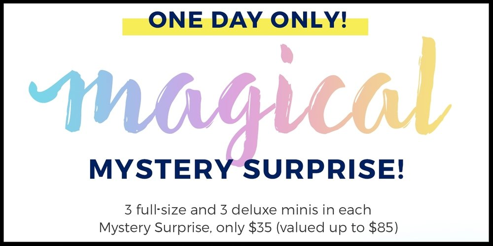H20+ ~  Mystery Surprise  ~ 3 full-size items and 3 deluxe minis for $35 (3 Choices ~ up to an $85 value ~ ends 6/21) + Free shipping with $50 order