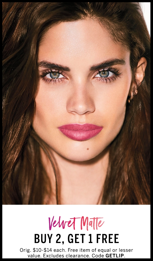 Victoria's Secret ~ Buy 2, Get 1 Free on Lip Products ~ Velvet Matte, Satin Gloss, Color Gloss, Lip Crayons, and Pout Perfectors  (Originally $10 - $14 ~ ends 6/26) with promo code: GETLIP + Free shipping with $50 order with promo code: SHIP50FREE (Ends 6/26)