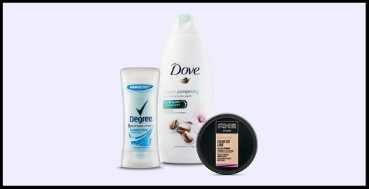 Target ~ $5 Gift Card with 4 Select Personal, Skin, & Hair Care Items like Dove, Degree, Axe, & more + Free shipping with $35 order