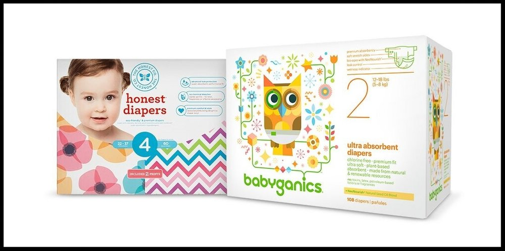 Target  ~ Free $10 Gift Card when you buy 2 select Honest, Seventh Generation, & Babyganics baby diapers items + Free shipping with $35 order
