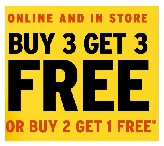 The Body Shop  ~ BUY 3 GET 3 FREE OR BUY 2 GET 1 FREE (Ends 7/12 ~ Exclusions apply) + Free shipping
