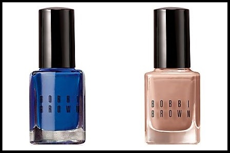 Macy's ~  Bobbi Brown  ~ New Nail Polish in Peace, Love, & Beach Collection ~ (2 Shades in Navy and Sand) $16 each + Free shipping and returns on any beauty order