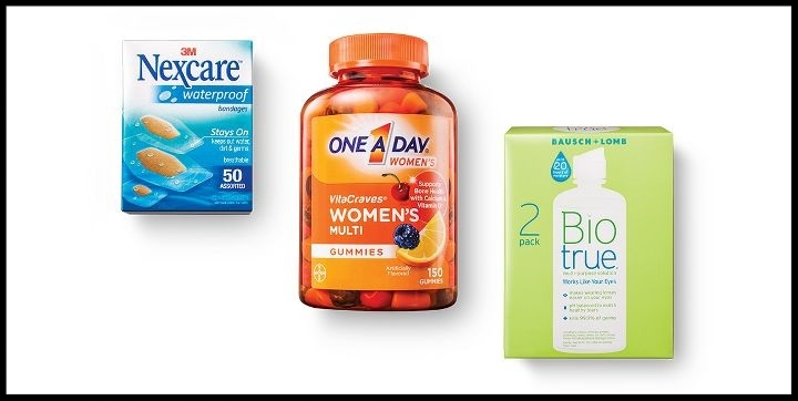 Target  ~ Free $5 Gift Card with a $20 or more purchase of select health care items (Ends 7/15 at 11:59pm PT) + Free shipping with $35 order