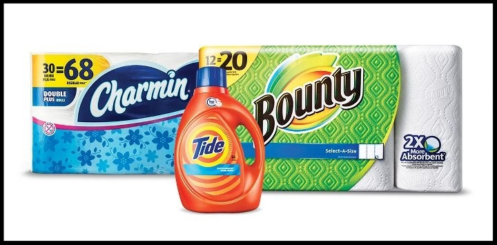 Target  ~ $10 Gift Card when you buy 3 select Tide, Gain, Downy, Dreft, or Bounce laundry care; Bounty, Charmin, or Puffs paper products household essentials items. (Ends 7/15 at 11:59pm PT.) + Free shipping with $35 order