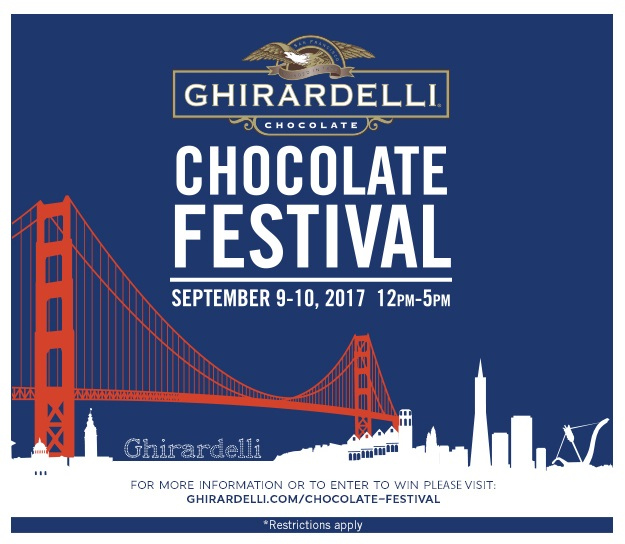 Enter  the Ghirardelli Chocolate San Francisco Getaway Sweepstakes for a chance to win a trip to San Francisco, California this summer!  One Grand Prize winner will receive:  Two tickets to the 22nd Annual Ghirardelli Chocolate Festival  Roundtrip airfare for two to San Francisco, California  A 2-night stay at a San Francisco Hotel  Red & White Fleet Cruise Tickets for two   Retail value: $2,300  This sweepstakes is only open to legal residents of the continental United States and the District of Columbia, 18 years or older at the time of entry and shall be governed solely by U.S. law.  Residents of New York, Florida, Rhode Island, Alaska, and Hawaii are not eligible to enter.(Ends 7/31)