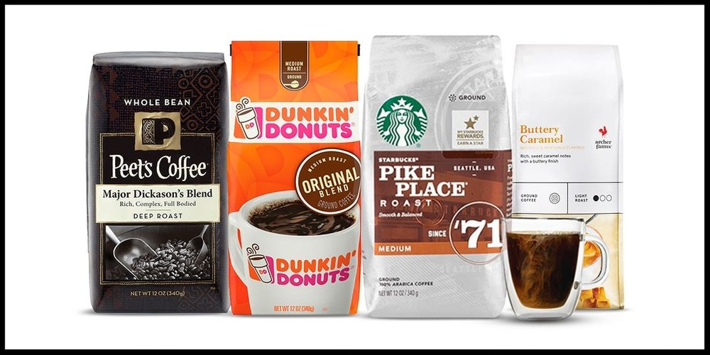Target ~ Buy 1, get 1 50% off select 10 - 12oz ground or whole bean bagged coffee items (Ends 7/22 at 11:59PM PT) + Free shipping with $35 order