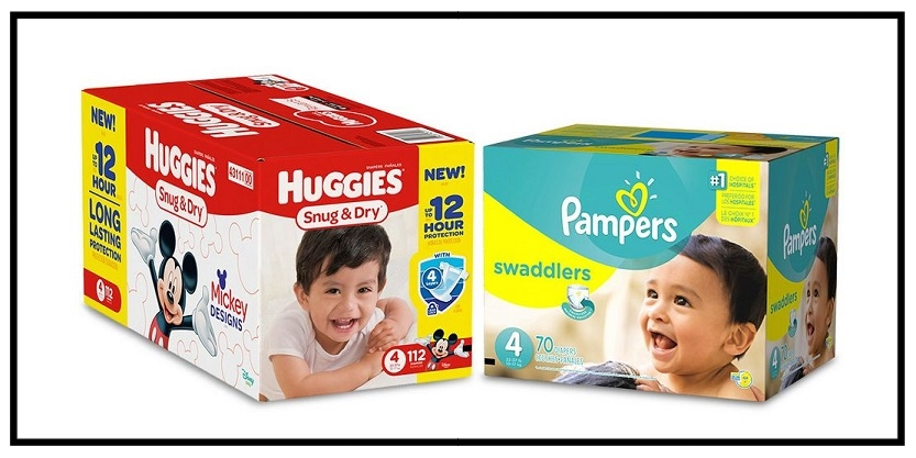 Target  ~ $10 Gift Card when you buy 2 select Luvs, HUGGIES, Pampers, GoodNites, Honest, Seventh Generation, Pull-Ups, & Babyganics baby diapers (Ends 7/29) + Free shipping with $35 order