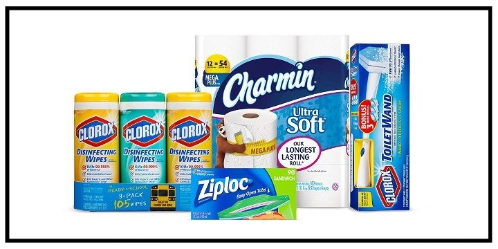 Target  ~ Save $15 off a $50 or more purchase of select household essentials items using promo code: CLEAN (Ends 8/5/2017) + Free shipping with $35 order