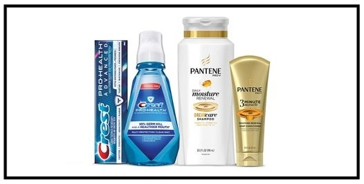 Target  ~ $5 gift card when you buy 4 select Aussie, Head & Shoulders, Herbal Essences, Pantene, Olay, Old Spice, Secret, Venus, Gillette, and Crest beauty or personal care items. (Ends 8/5) + Free shipping with $35 order