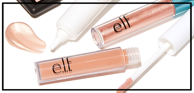 e.l.f. cosmetics  ~ Free 4-Piece Rose Gold Gift ($13 value) with $25 purchase with promo code: FOUR (Ends 8/8) + Free shipping with $25 order