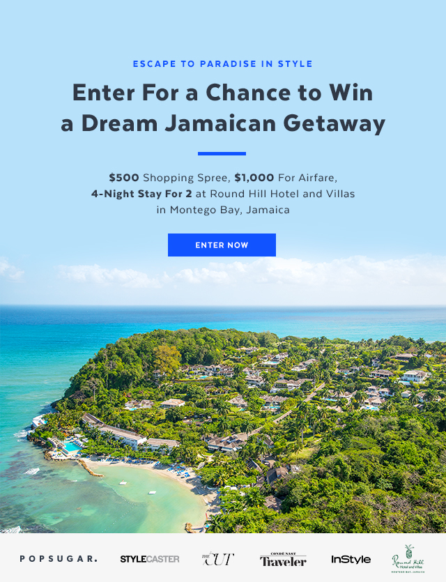 Enter For a Chance to Win a Jamaican Getaway (Open to individuals legally residing in the fifty (50) United States or the District of Columbia, aged 18 or over, who meet their jurisdiction's minimum age requirement. Ends August 28, 2017 at 11:59 PM Pacific Time)