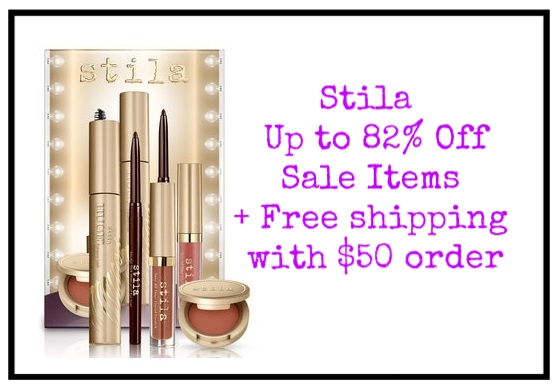 Stila ~ Up to 82% Off  Sale Items  + Free Convertible Color Dual Lip & Cheek Palette with $50 purchase  + 20% Off with promo code: INNERCIRCLE (Can't be applied to sale items) + Free shipping with $50 order