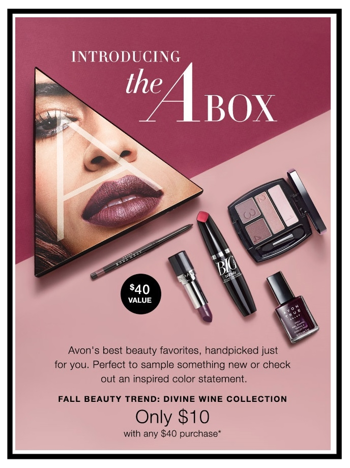 Avon ~  5-Piece Gift  ~ $10 ($40 value) with any $40 purchase + Free shipping with $40 order or free ShopRunner shipping with $25 order