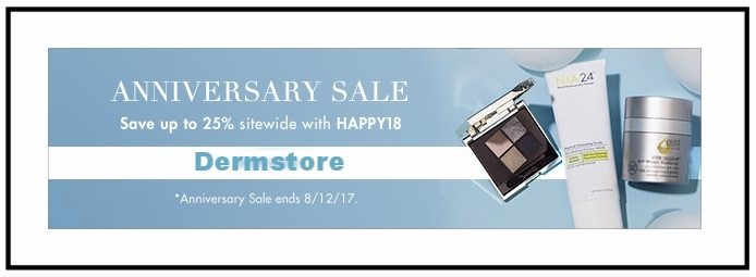 Dermstore  ~ Save up to 24% Off Anniversary Sale with promo code: HAPPY18 (Brands exclusions apply ~ Ends 8/12) + Included With $25 Purchase - 2 Year Shape Magazine Subscription + Free shipping