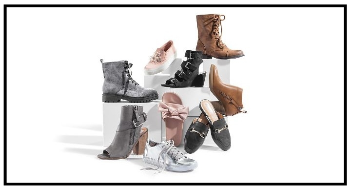 Target ~ Buy 1 get, 1 50% off Select Women's Shoes (Offer excludes Clearance items. Discount applied on lower priced item. Add all items to cart to receive discount. Ends 08/19/2017 at 11:59 PM PT.) + Free shipping with $35 order