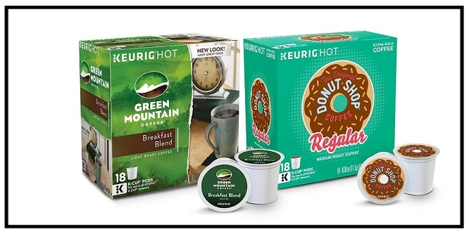 Target  ~ Buy 1 get, 1 50% off on select Green Mountain and Original Donut Shop K-Cup coffee pod multi-pack items (Add all items to cart to receive discount. Lower-priced item will be 50% off. Ends 8/19 at 11:59pm PT) + Free shipping with $35 order