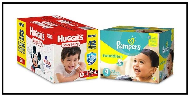 Target  ~ Free $10 Gift Card when you buy 2 Pampers, Huggies Super Packs, or Luvs Value Packs (Ends 8/19 at 11:59pm PT.) + Free shipping with $35 order