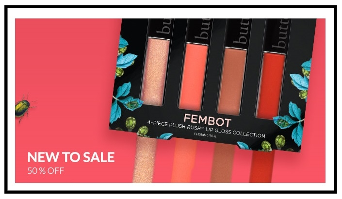 Butter London ~  50% Off Sale Items + Free 5-PieceBonus Gift with $50 purchase with promo code: AUGUST17 (It includes some full-sized items) + Free shipping
