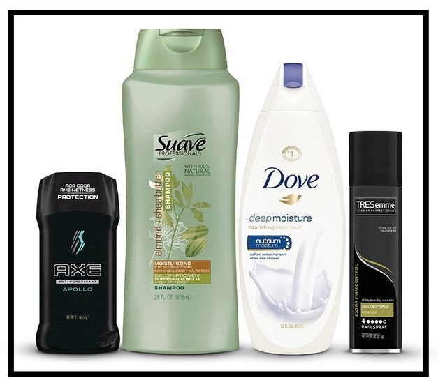 Target ~ $5 Gift Card when you buy 4 select Degree, Dove, St. Ives, Axe, Suave, TRESemme, Vaseline, Q-Tips, Clear, and Lever personal care items (Ends 8/26/2017 at 11:59 pm PT) + Free shipping with $35 order