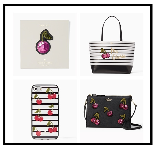 Kate Spade ~  the novelty shop  ~ cherries are in season + Free shipping and returns
