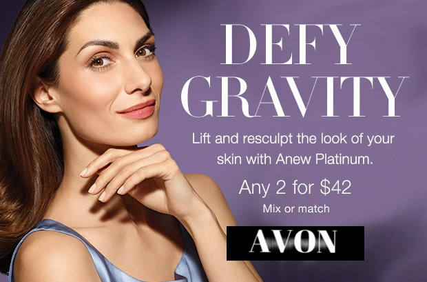 Avon ~ Anew Platinum - Any 2 for $42 (Normally $36 - $38 each) + Free shipping with $25 order with promo code: SHOP25 (Ends 8/26 at 11:59 PM PT)