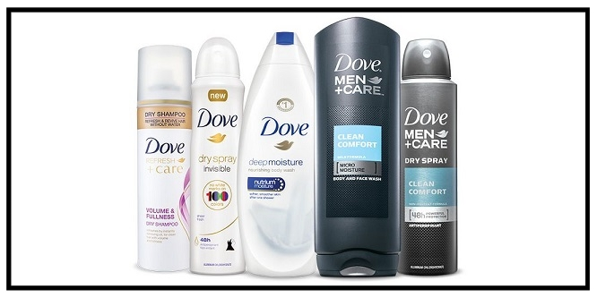 Target  ~ $5 Gift Card when you buy 4 select Dove personal care items (Expires 9/2/2017 at 11:59 pm PT.) + Free shipping with $35 order