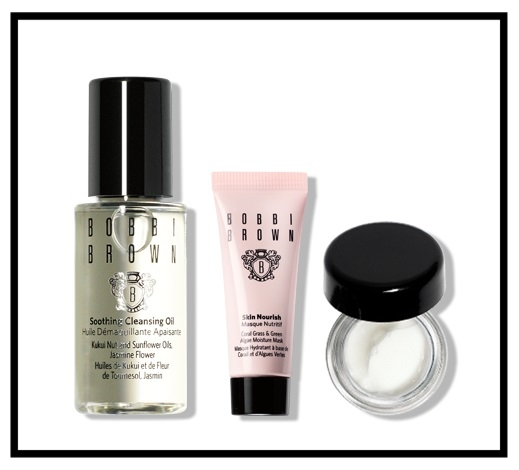 Bobbi Brown  ~ Spend $75+ and get  Free 2-Day Shipping + the Post Sun Skincare Trio  with promo code:  WKNMINIS  (Ends 8/30 at 3PM PT.) + 2 free samples with every order  Trio Includes:  - Mini Soothing Cleasing Oil - Mini Skin Nourish Mask - Mini Extra Repair Moisture Cream