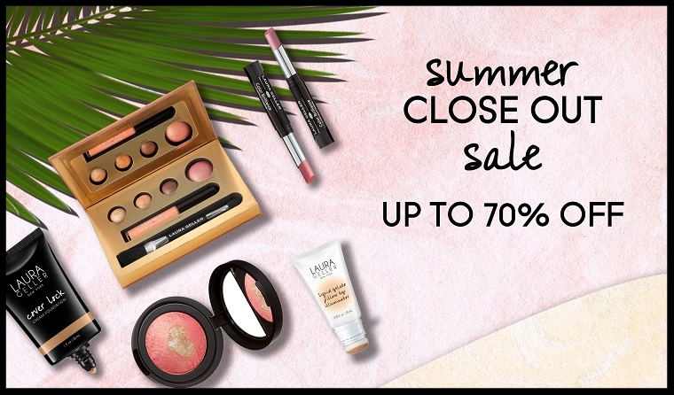 Laura Geller ~ Up to 70% Off Sale (Ends 9/4) + 1 free sample + Free shipping with $5 order