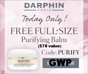 Darphin ~ (Today only) ~ Free full-size Aromatic Purifying Balm ($70 value) with $75 order with promo code: PURIFY (Ends 8/30 at 11:59 PM PST) + 3 free samples + Free shipping and returns on all orders