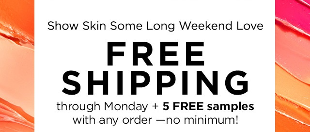 Origins ~ Free shipping (9/5/2017 at 5:59 AM EST.) + 5 free samples with any order (Ends 9/4/2017 at 5:59 AM EST)