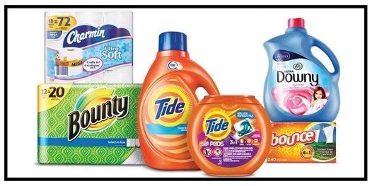 Target ~ Free $5 Gift Card when you buy 2 select Tide, Downy, Bounce, Gain, & Dreft laundry care; or Bounty & Charmin paper product cleaning and essential items (Ends  9/16/2017 at 11:59 pm PT.) + Free shipping with $35 order