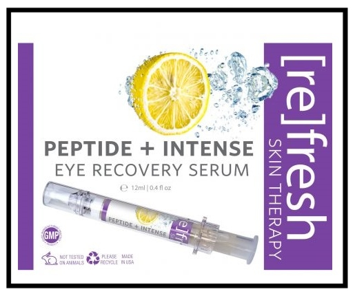 Costco (No membership required) ~ [re] fresh Skin Therapy -  Refresh Skin Therapy Peptide + Intense Eye Recovery Serum  $26.99 + Free shipping (It's $49 at  [re] fresh Skin Therapy )  Features:  0.4oz Eye Serum  Strengthens Connective Tissue Around the Eyes  Reduces Inflammation and UV Damage  Restores Important Moisture Levels  Vegan, Cruelty-free, 100% Natural Botanical Extracts  • CLINICALLY PROVEN to really work. Studies show after 8 weeks a 42% improvement in skin texture, 35% reduction in dark circles, and a 31% reduction in puffiness around the eyes. As well, tissue samples show a 200% increase in fibroblasts (collagen-producing cells) and significantly improved capillary circulation • AIRLESS PUMP Precision applicator maximizes eye serum effectiveness – product stays sealed, extending product lifetime, eliminating waste or spills • REDUCES INFLAMMATION and UV DAMAGE • SAFE FOR ALL SKIN TYPES Non-irritating, fragrance-free gentle cooling eye treatment contains no artificial colors, parabans, sulfates, alcohol, or preservatives • THIS EYE SERUM is Vegan, Cruelty-free, 100% natural botanical extracts