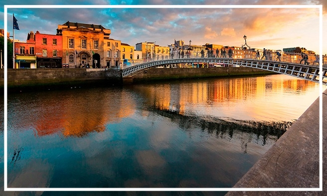 Win a Trip for Two to Dublin!    Enter for a chance  to win a trip for two to Dublin.    Your package includes:    A three night stay at a luxury boutique hotel in Dublin curated by The Guestbook, valued at $1,000  $1,100 towards airfare to Dublin for two  A Fodor's travel guidebook  (Open to anyone who is at least eighteen (18) years of age and has reached the age of majority in their jurisdiction of residence at the time of opt-in (19 in Alabama and Nebraska; 21 in Mississippi) and lives within the continental United States and has a valid email address. Sweepstakes will end on 10/9/2017 at 11:59pm EDT.)