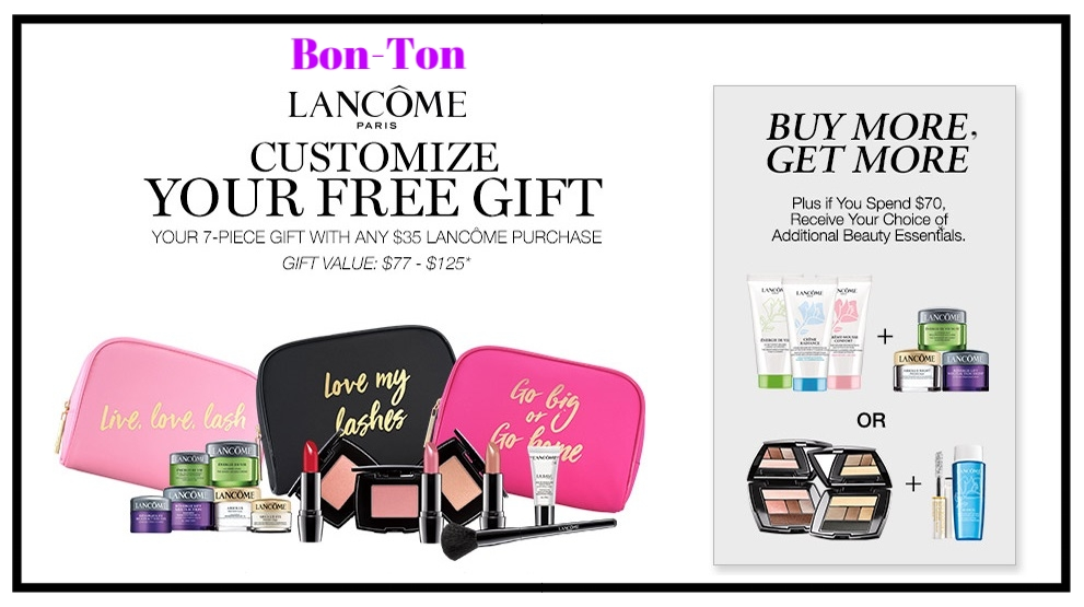 Bon-Ton ~ Lancôme~  Matte Shaker High Pigment Liquid Lipstick  $22 (6 Shades) + 20% Off with Beauty with promo code:  GWBCFALLF17  + Free 7-Piece Lancôme Gift With $35 Lancôme Purchase +Fall Lancôme Bonus Gift With $70 Lancôme Purchase + 3 free samples with any beauty purchase + Free shipping with any beauty order with promo code: BEAUTY (Both codes combined)   OR