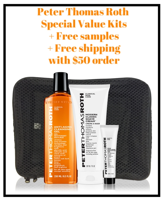 Peter Thomas Roth ~  Special Value Kits  + Free samples + Free shipping with $50 order