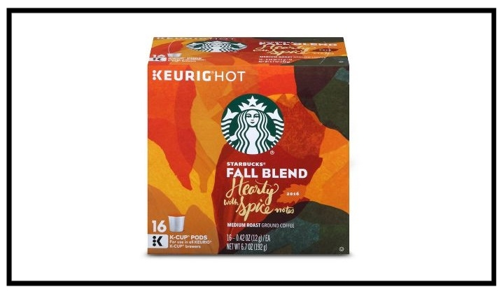 Target ~  Save $6 on 3 Starbucks K-Cup packs  (Ends 10/14 at 11:59 pm PT.)+ Free shipping with $35 order