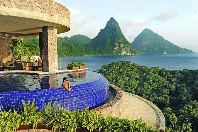The Ultimate Escape to Jade Mountain St. Lucia!   Enter for a chance  to win the adventure of a lifetime - a trip to beautiful St. Lucia at the Jade Mountain Resort.   Your package includes:  • 3-night stay for two in a Star Sanctuary Suite at Jade Mountain Resort in St. Lucia  • Daily breakfast and dinner  • $500 towards airfare  (Open to anyone who is at least eighteen (18) years of age and has reached the age of majority in their jurisdiction of residence at the time of opt-in (19 in Alabama and Nebraska; 21 in Mississippi) and lives within the continental United States and has a valid email address. Contest ends on 10/31/2017 at 11:59pm EDT.)