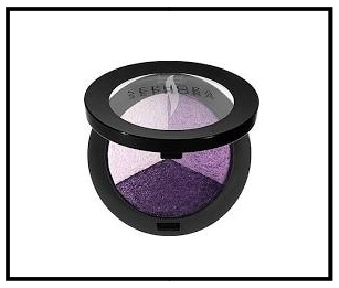 Sephora ~ SEPHORA COLLECTION ~  MicroSmooth Baked Eyeshadow Trio  (COLOR: 06 Ultraviolet - poppy purple) Reg: $19 Now $11 + Free shipping with $50 order or free shipping with  Sephora Flash  (It's $10 a year for 2-Day Shipping on any order)