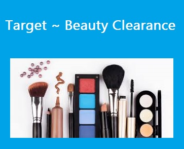 Target ~ Beauty Clearance + Extra 20% Off for REDcard™ Holders + Free shipping with $25 order