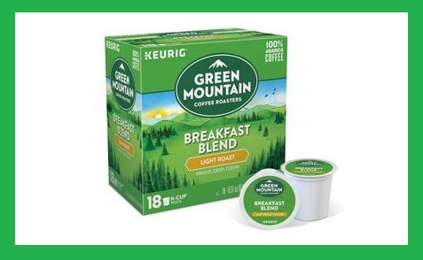 Target ~  Green Mountain and The Original Donut Shop K-Cups  ~ $8.99 each (Pricing applied in cart when you buy 2 select Green Mountain or The Original Donut Shop K-Cup pods 16-18ct multipack coffee items. Discount applied in cart at checkout. Ends 1/6 at 11:59pm PT) + Free shipping