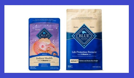 Target ~  $5 Gift Card when you buy 2 select Blue Buffalo dog & cat food, Rachael Ray dog food, Tidy Cats litter, or Fancy Feast cat food items  (Ends 1/6 at 11:59pm PT) + Free shipping