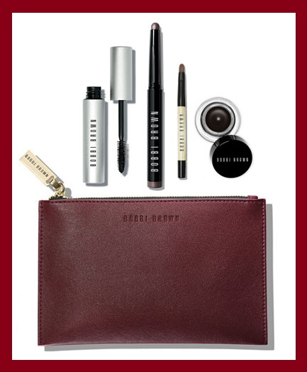 Macy's ~  Bobbi Brown 5-Piece Stand Out Eyes Long-Wear Smokey Eye Set  Reg: $65 Now: $49 ($134.00 Value ~ Created for Macy's) +  FREE It Cosmetics Your Skin But Better CC+ Illumination Packette In Medium With Any $25 Cosmetics Purchase + Free shipping and returns on any beauty order