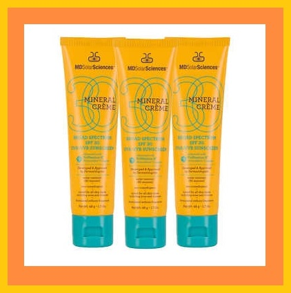 Costco (No membership needed) ~MDSolarSciences Mineral Crème SPF 30 (3-pack) $19.97 + Free shipping (It's $30 for just 1 ~ 1.7 oz. tube at  MDSolarSciences )  Features:  3-pack, 1.7 oz. Sunscreen  SPF 30  Mineral Based  Water-Resistant up to 80 Minutes  Great for sensitive Skin
