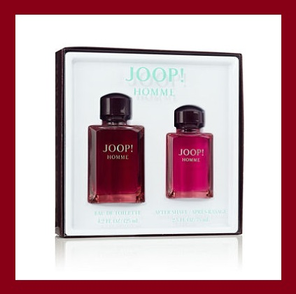 Sam's Club ~  JOOP! Homme for Men 2-Piece Gift Set   $35.98 + Free shipping    Specifications :  JOOP! Homme cologne has a sophisticated, oriental, woody fragrance  Launched by the design house of Joop! in 1989, JOOP! Homme cologne has a sophisticated, oriental, woody fragrance  A blend of cinnamon, jasmine, honey, tobacco, and vetiver as well  Contains notes of cool, fresh spiciness from bergamot and cinnamon, unfolding into a subtle, warm floral-woody body  Set Contains 4.2 oz. EDT Spray and 2.5 oz. After Shave Splash   MSRP : $64.00